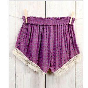 Natural Life boho shorts